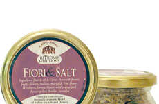 Edible Flower Salts - Ritrovo's Flavored Salt Packs Include Flower and Herb Varieties