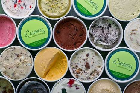 The eCreamery Parlor Allows Consumers to Personalize Their Pints
