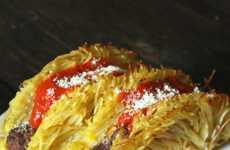 Spaghetti Taco Shells - This Mexican-Themed Twist on Spaghetti and Meatballs is From The Vulgar Chef