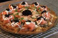 Chorizo Caviar Pizzas - Stevenson Pizza's Popular Recipe is the World's Most Expensive Pie