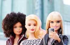 Individually Styled Dolls - The Who is Barbie Campaign Introduces a Sense of Self-Expression