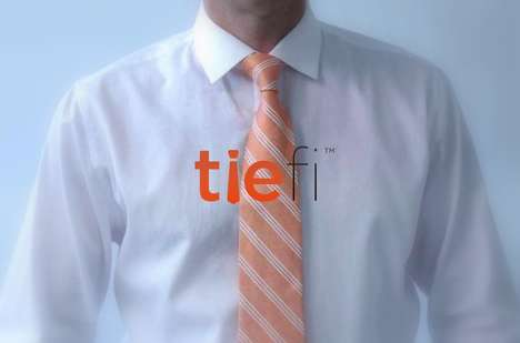 WiFi-Enabled Neckties - These Smart Ties Make It Easier to Connect to the Internet Anywhere