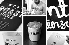 Rural Roaster Branding - This Dynamic Coffee Roaster Branding is Inspired by Its Home