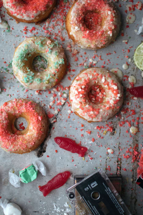 Candy-Covered Donuts - These Delicious Soda-Inspired Donuts Feature Fun Pop Rocks Sprinkles