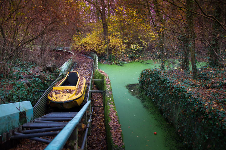 Abandoned Amusement Park Photos
