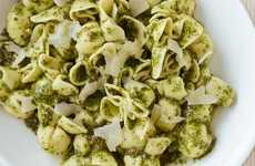 Mediterranean Pesto Dishes - Panera Bread's Pesto Sacchettini Menu Item is Nut-Free