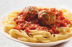 Updated Italian Dishes - Sbarro's Spaghetti and Meatballs Menu Item Remixes Tradition