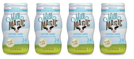 Cotton Candy-Flavored Milks