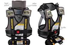 Car Seat-Replacing Vests
