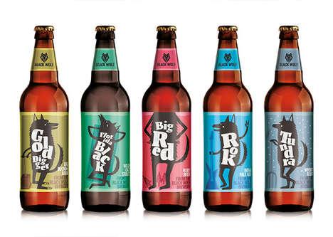 Predatory Beer Branding