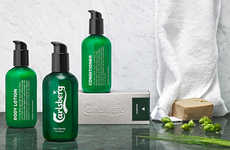 Beer-Powered Men's Skincare - The Beer Beauty by Carlsberg Line for Men is a Limited Release