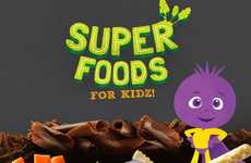 Berry Superfood Snacks - Nutra Organics' Berry Chocolate Chunk Bars are Healthy for Kids