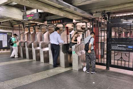 Musical Metro Turnstiles