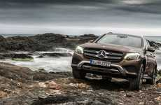 Suspension-Shifting Cars - The Mercedes GLC is a Premium SUV That is Truly Eco-Friendly