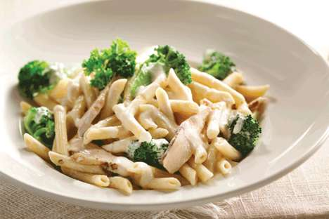 Portion-Controlled Pasta Dishes