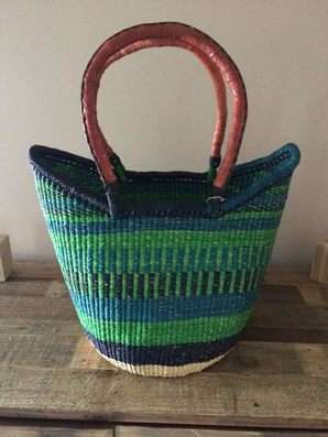 Education-Endorsing Baskets - These Bolga Baskets are Sold to Help Send Girls to School in Ghana