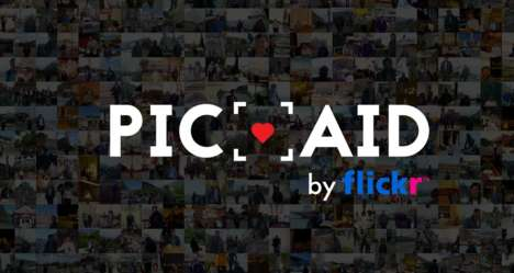 Charitable Photo Donations - Flickr's Pic Aid Lets Users Donate a Photo to Charity