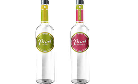Herbal Fruit Vodka - Pearl Vodka's Newest Flavored Drinks Taste Like Lime and Strawberry Basil