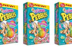 Ice Cream-Flavored Cereals - The Ice Cream Pebbles Cereal Sherbet Variety Will Inspire Nostalgia