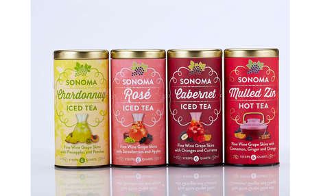 Refreshing Wine-Inspired Teas
