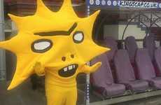 Cartoon-Mimicking Mascots - The Partick Thistle Football Club Has Unveiled a Bright Yellow Mascot