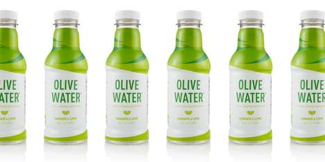 Olive Water Beverages - Olive Water is a Rejuvenating Superdrink That Recently Rebranded