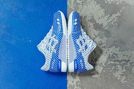 Retail Concept Sneaker Designs - The colette x ASICS Collaboration Presents an Impressive Pair