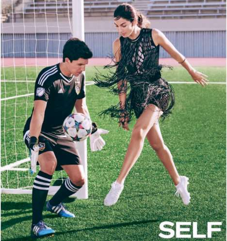Fringed Sporty Fashion