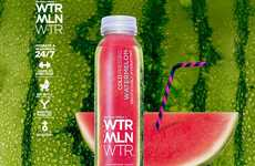 Refreshing Watermelon Waters - WTRMLN WTR's Healthy Beverage is Cold Pressed and All Natural