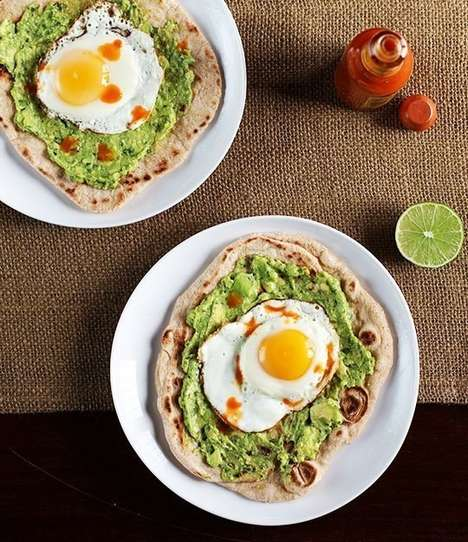 Simple Breakfast Pizzas