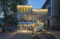 Contemporary Fast Food Restaurants - This McDonald's Rotterdam Location Features a Modern Renovation