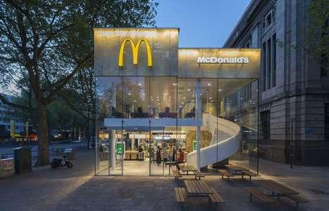 Contemporary Fast Food Restaurants