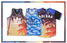 Sunset-Printed Jerseys - This Summer Sportswear Collection from Adidas is Lightweight and Breathable