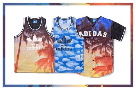 Sunset-Printed Jerseys