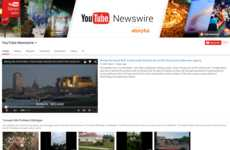 Crowdsourced News Platforms - YouTube Newswire is a Curated Social Media News Platform
