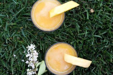 Indian Mango Iced Teas