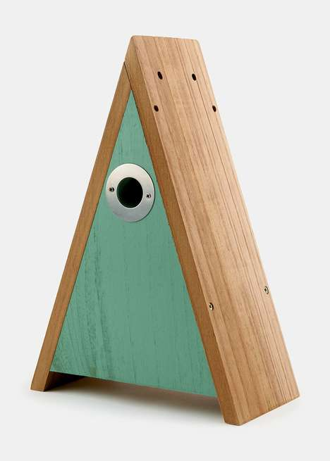 Triangular Birdhouses