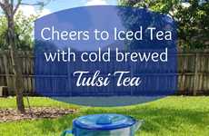 Tulsi Iced Tea - This Iced Tulsi Tea is Packed With Herbal Nutrients