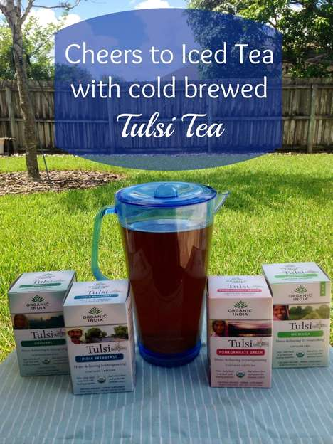 Tulsi Iced Tea