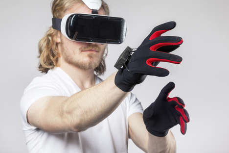 VR Gaming Gloves - Manus Machina is Developing a More Intuitive Alternative to the Joystick