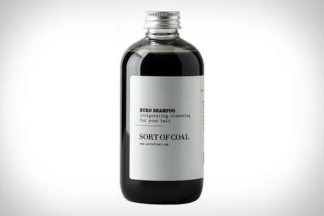 Charcoal-Based Shampoos - This Unique Hair Care Product is Made from White Charcoal Powder
