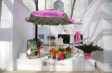 Summery Pop-Up Shops - This Byrant Park Pop-Up Celebrates the Target x Lilly Pulitzer Collection