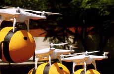 Beer-Delivering Drones - This Marketing Scheme Used Bumblebee Drones to Deliver Honey Beer