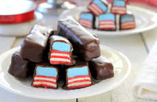 Star Spangled Desserts - This Patriotic Candy Bar Recipe Makes Independence Day Super Sweet
