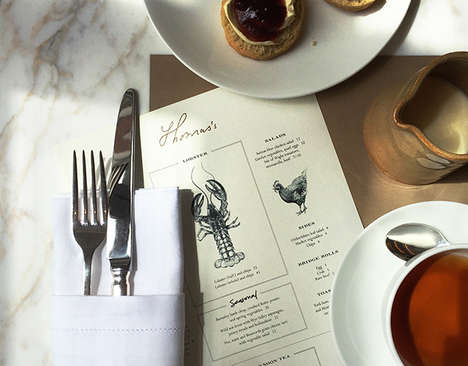Fashionable Cafe Pop-Ups - The Thomas Burberry Cafe Celebrates the Label's Latest Menswear Range