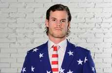 Patterned Patriotic Suits