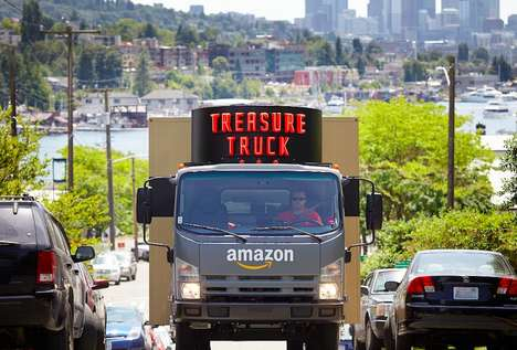 Mobile Discount Stores - The 'Treasure Truck' Will Drive Around Seattle Selling Discount Goods