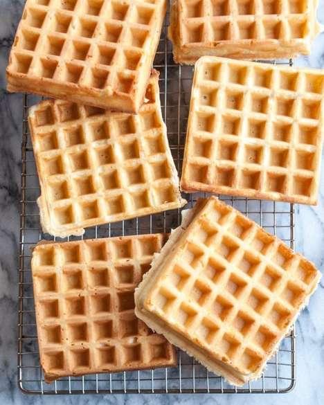 Fluffy Overnight Waffles