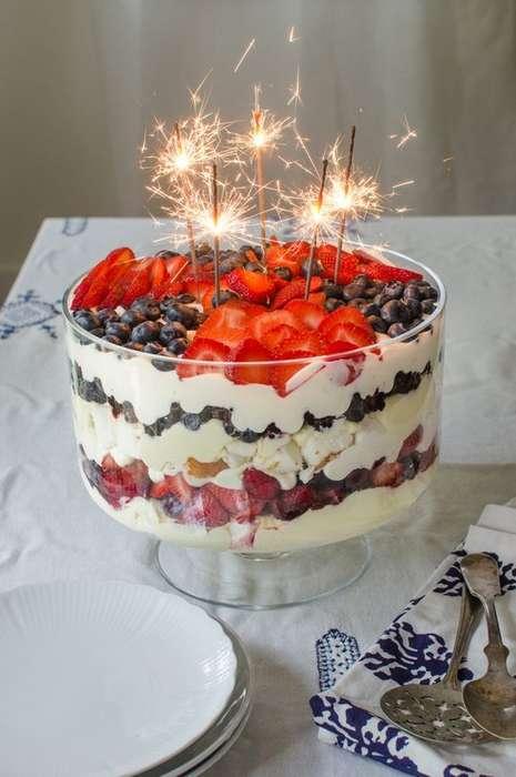 Patriotic Dessert Trifles