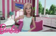 Barbie Video Diaries - Mattel's Most Famous Doll is Now Broadcasting Her Own Videos on YouTube